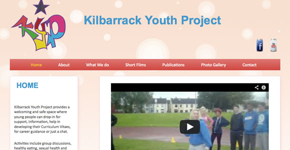 Killbarrack Youth Project website - Cecil